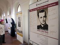 Exhibition dedicated to priest Jan Bula, photo: CTK