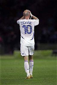 Zinedine Zidane, foto: ČTK
