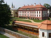 Renoviertes Schloss und Kegelhaus (Foto: Archiv des Museums in Nový Jičín)