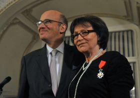Pierre Lévy, Marta Kubišová, photo: CTK