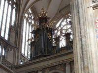 El órgano en la Catedral de San Vito, foto: Barbora Němcová