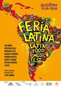 Foto: póster oficial de la Feria Latina