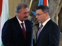 Жан Асселборн и Лубомир Заоралек (Фото: ЧТК)