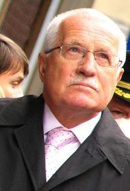 El presidente de la República Václav Klaus, foto: Kristýna Maková