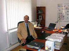 Heinz Albert Huthmacher von der Friedrich-Ebert-Stiftung (Foto: Autor)