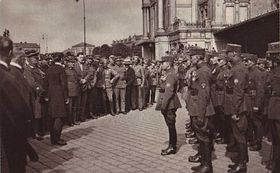 Czech Legion welcomed home, photo: www.czechlegion.com