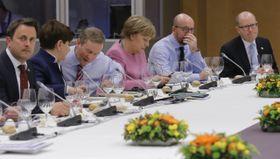 Богуслав Соботка (справа) на саммите ЕС, Фото: ЧТК