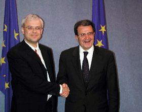 Владимир Шпидла и Романо Проди (Фото: ЧТК)