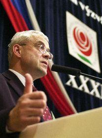 Vladimír Spidla, el congreso del Partido Socialdemócrata en Praga, foto: CTK