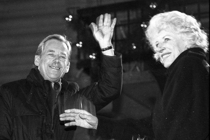 Václav Havel se svou ženou Olgou, foto: Výbor dobré vůle, Ondřej Němec, CC BY 4.0