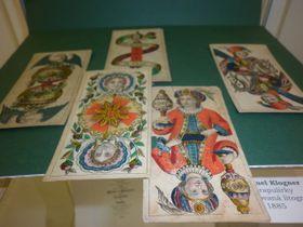 Trappolové karty, foto: Zdeňka Kuchyňová
