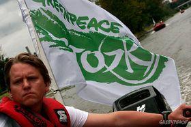 Jan Freidinger, foto: Greenpeace