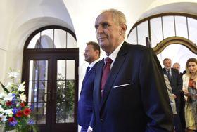 Miloš Zeman, photo: ČTK / Roman Vondrouš