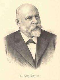 August Zátka, pintura de Jan Vilímek, free