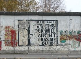 Le mur de Berlin, photo: Alexandra Novosseloff