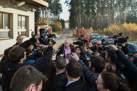 Глава МВД Чехии Милан Хованец в Беле-Йезове, фото: ЧТК