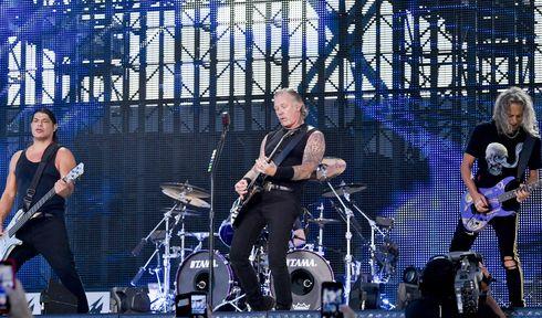 Metallica v Praze , foto: ČTK / Vít Šimánek