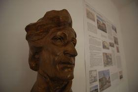 Бюст Махи в музей-квартире Карела Гинека Махи в городе Литомержице (Фото: Эва Туречкова, Чешское радио - Радио Прага)