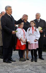 Joachim Gauck (vlevo) aVáclav Klaus, foto: ČTK