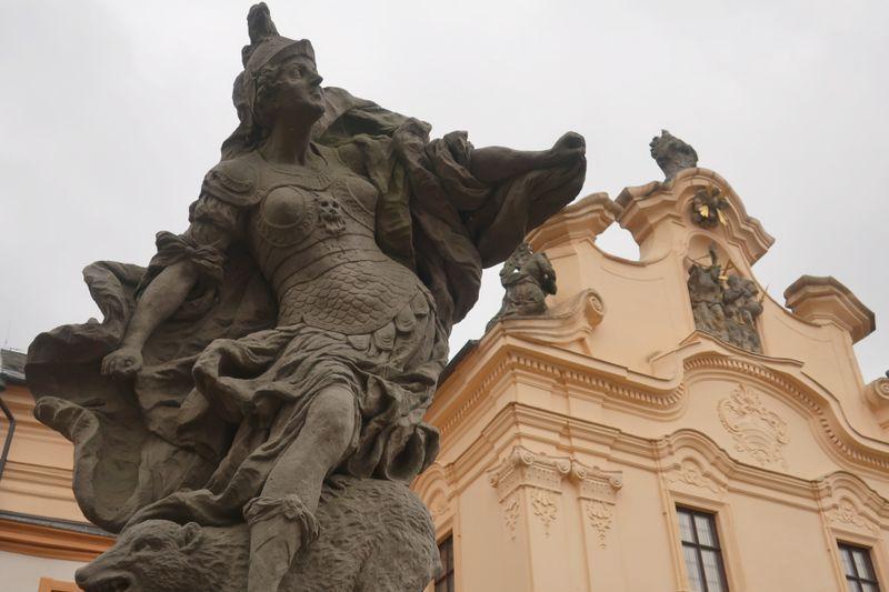 Une statue de Matyáš Bernard Braun, photo: Anna Kubišta