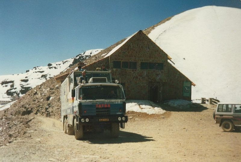 Tatra expedition 1987-1990, photo: Tatrakolemsveta.cz