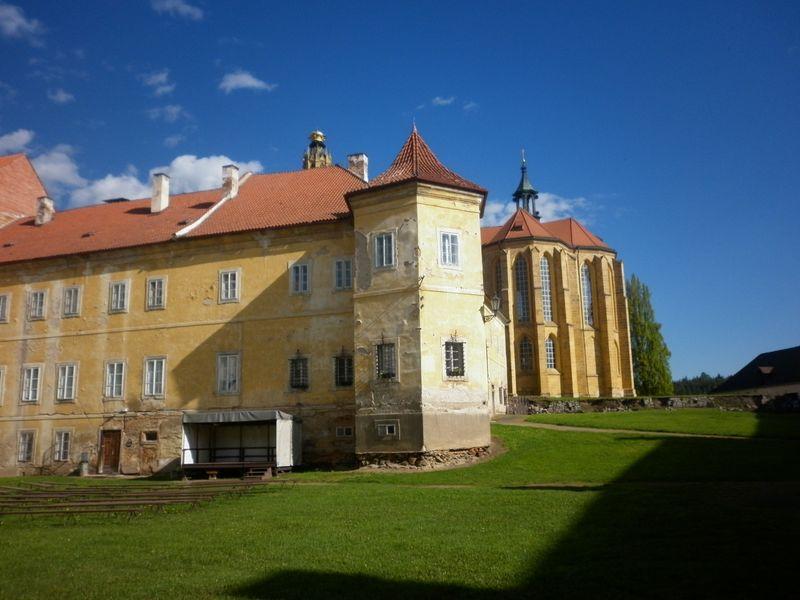 Kladruby Abbey, photo: Zdeňka Kuchyňová