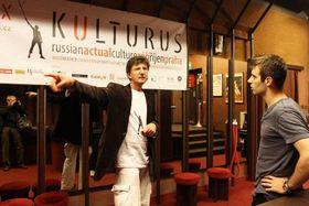 Антон Литвин, слева (Фото: Архив фестиваля KULTURUS)