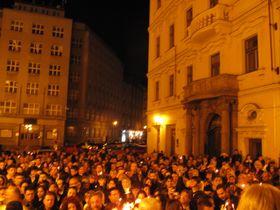 Православная Пасха на Староместской площади в 2016 г., фото: Катерина Айзпурвит