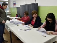 Избирательный участок в Трнаве, Фото: ЧТК