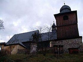 L'église de Saint-Christophe, photo: Archives de Radio Prague