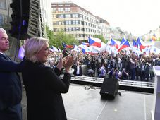 Geert Wilders, Marine Le Pen, photo: ČTK/Michal Kamaryt