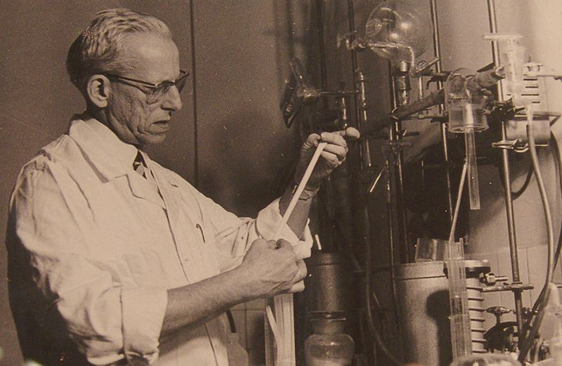 Otto Wichterle, foto: archivo de la Academia de Ciencias Checa