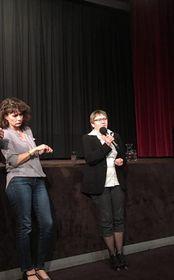 Ruth Zylberman et Anna Šabatová, photo: Facebook de l'Institut français de Prague