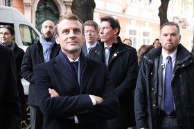 Emmanuel Macron, photo: Site officiel de l'Ambassade de France à Prague