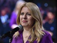 Zuzana Čaputová, foto: ČTK / Václav Šálek