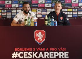 Jaroslav Šilhavý y Josef Hušbauer, foto: ČTK/Krumphanzl Michal