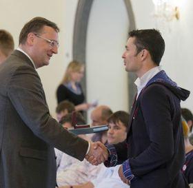 Czech Prime Minister Petr Nečas, Jiří Ježek, photo: CTK