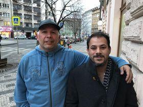 Ramon Salgueiro, Jackson Fernandez, photo: Filip Harzer / Czech Radio