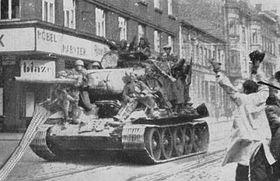 Abril de 1945 en Ostrava