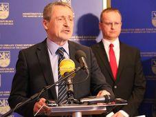 Martin Stropnický, photo: Michal Voska / Site officiel de l'Armée tchèque