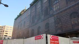 Národní muzeum nyní prochází rekonstrukcí, ale vříjnu bude opět otevřeno, foto: Lenka Žižková