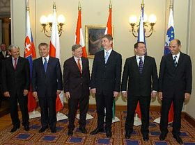 Meeting of the Visegrad Four, photo: CTK, photo: CTK