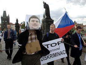 Protest Národní strany, foto: ČTK