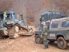 Czech contingent in Kosovo