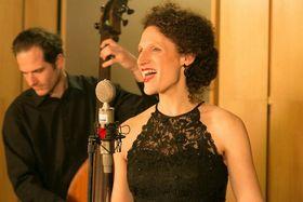Petra Ernyeiová, foto:  Jan Šilar, presentación oficial del Petra Ernyei Quartet