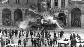 Оккупация Чехословакии войсками Варшавского договора, Фото: Вацлав Тоужимский, проект «Живая память»