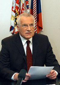 Presidente checo Václav Klaus, foto: CTK