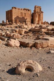 El templo de Bél, Palmýra, Siria, foto: Yvonnefm / CC BY-SA 3.0
