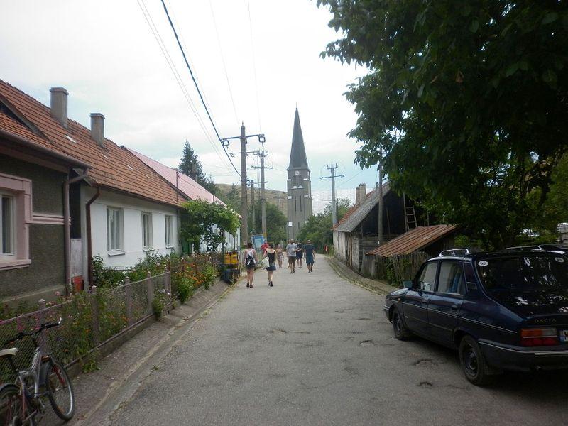 Чешская деревня Айбентал в Банате (Румыния), фото: Зденка Кухинева