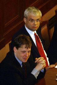 Stanislav Gross y Vladimír Spidla, foto: CTK